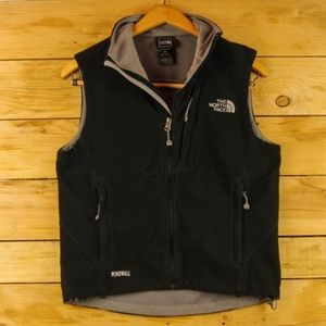 The North Face Black Windwall Windproof Vest